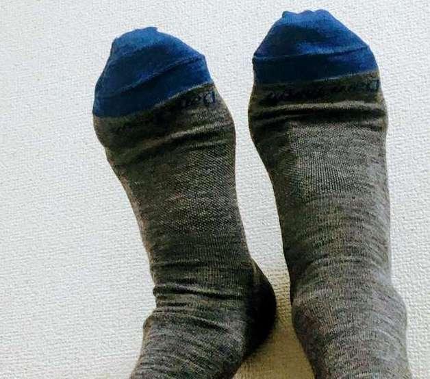 ダーンタフの靴下の購入レビュー<