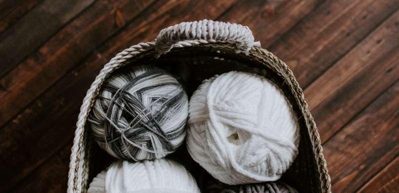 靴下の素材は組み合わされて使われる