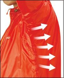モンベル「EXライトウインドジャケット」の特徴