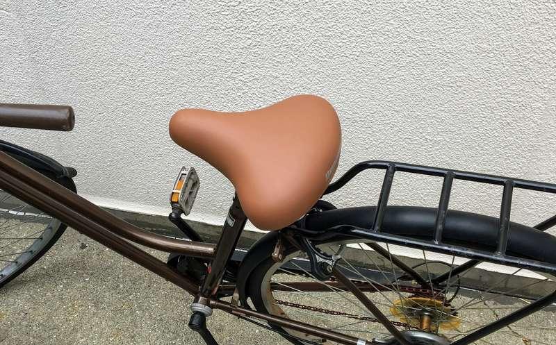 自転車(ママチャリ)のサドル交換方法