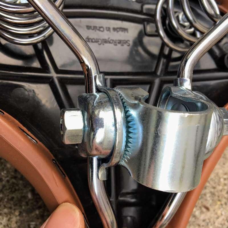購入した自転車サドルの詳細