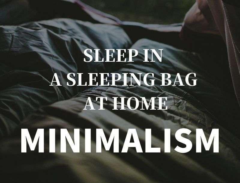 ミニマリストに寝袋はおすすめ!3年以上使った結論!n