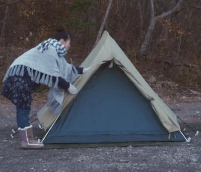 【ゆるキャンのテント】モンベル「ムーンライトテント3型」