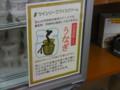 [遠州][静岡空港][お土産]お好みでサンショウをかけるウナギアイス。