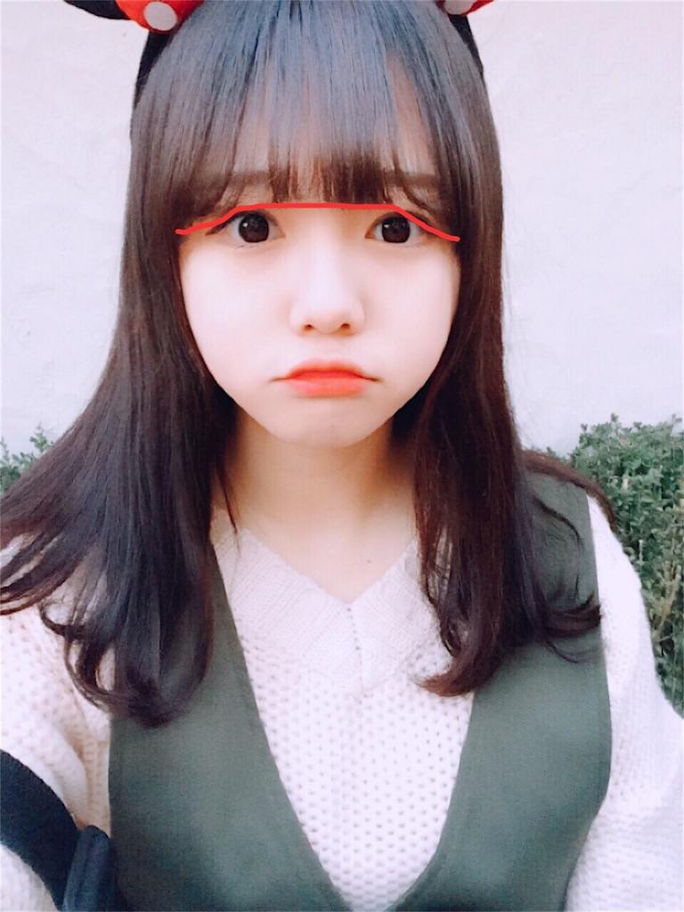 キムイェリンちゃんの前髪カット解説