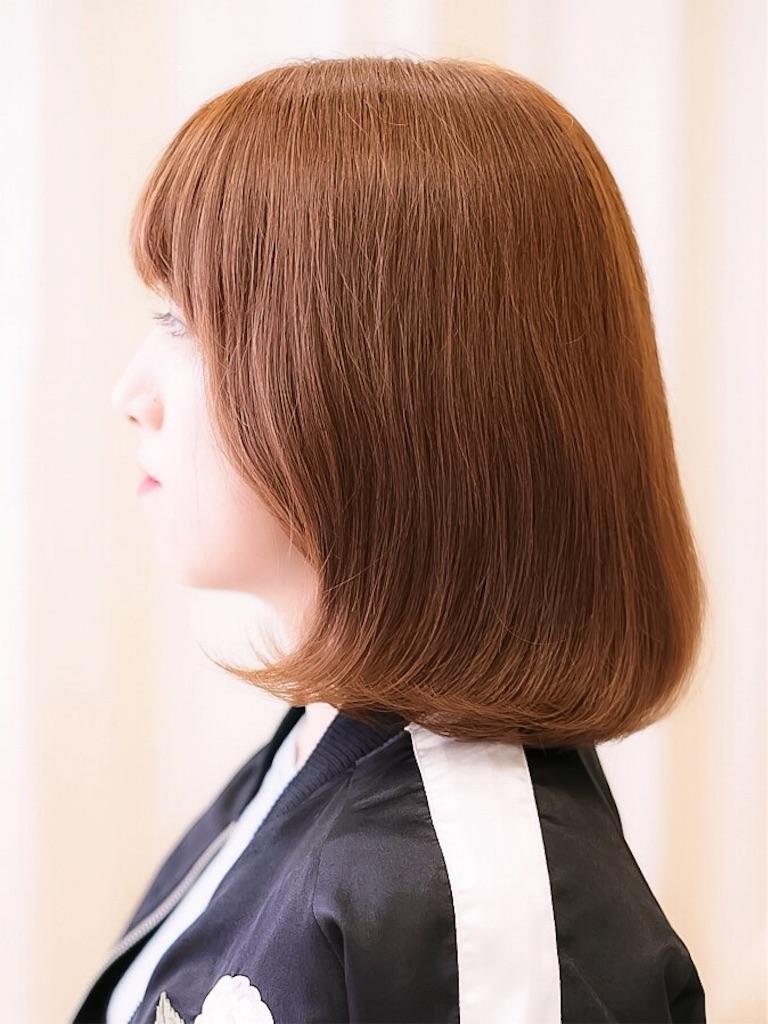 韓国人タンバルモリ&シスルベンのヘアスタイル撮影サイドから。