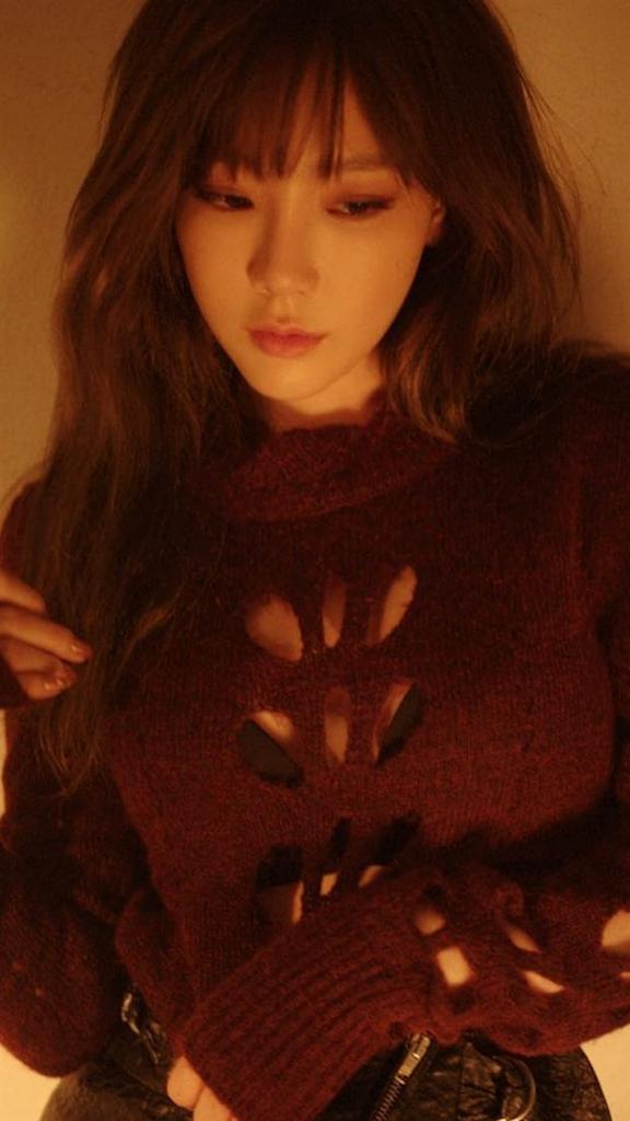 2016年韓国で流行りの前髪テヨンさん(少女時代)
