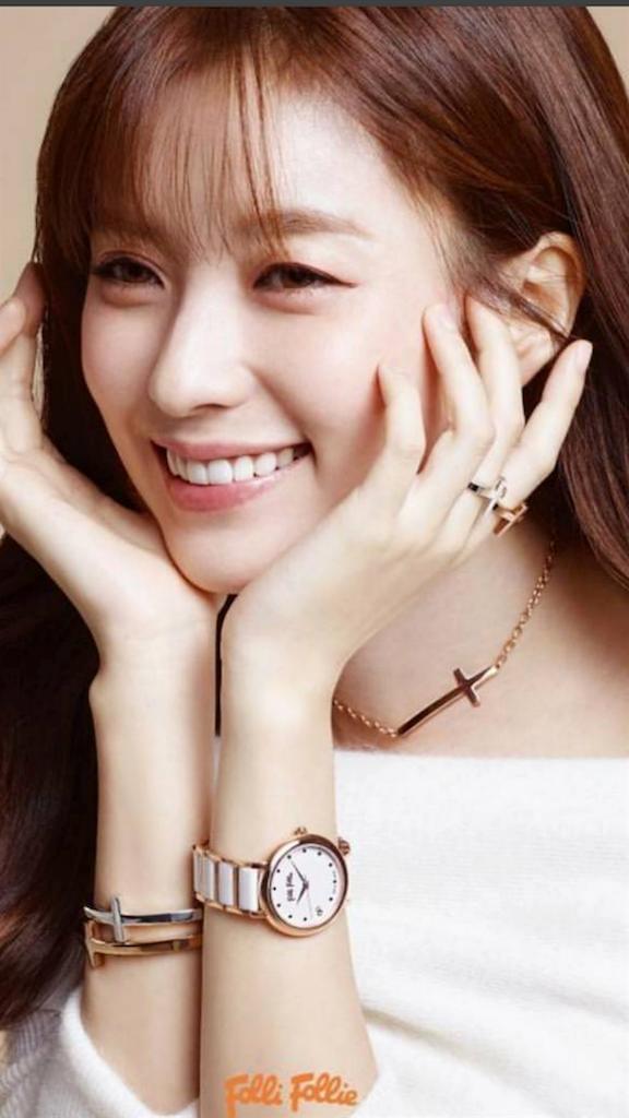 2016年韓国で流行りの前髪W-2つの世界ハンヒョジュさん