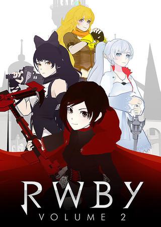 3Dアニメ「RWBY(ルビー)Volume 2」ポスター