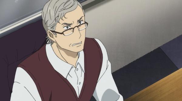 アニメ「舟を編む」第七話、信頼:光文大学の小田教授