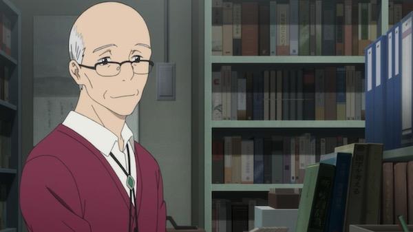 アニメ「舟を編む」第七話、信頼:松本先生の笑顔