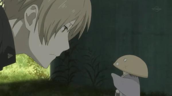 アニメ「夏目友人帳 伍」第九話険しきをゆくより、夏目としいたけ妖怪