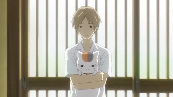 アニメ「夏目友人帳 伍」第十話より、夏目がニャンコ先生を連れてきた日