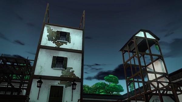 アニメ「RWBY(ルビー)Volume 4」第6話より、オニユリの街