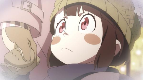 TVアニメ「リトルウィッチアカデミア」2話より、子供時代のアッコ