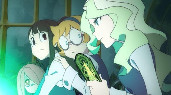 TVアニメ「リトルウィッチアカデミア」2話より、パピリオディアの呪文