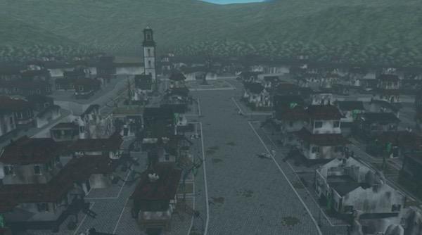 アニメ「RWBY(ルビー)Volume 4」10話より、クロユリの村
