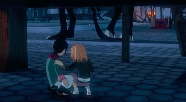 アニメ「RWBY(ルビー)Volume 4」10話より、四本足のグリム