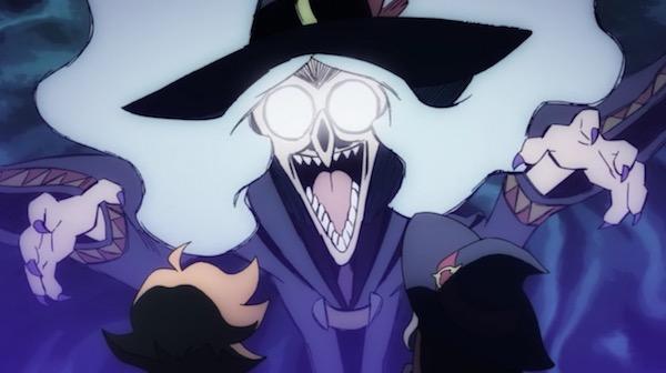 TVアニメ「リトルウィッチアカデミア」5話より、ルーキッチ先生は怒らせちゃダメ