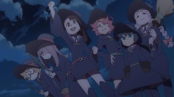 TVアニメ「リトルウィッチアカデミア」5話より、ドラゴン退治へ出発
