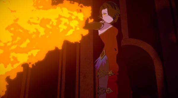 アニメ「RWBY(ルビー)Volume 4」第12話より、シンダーの復活