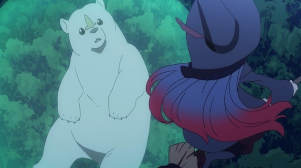 TVアニメ「リトルウィッチアカデミア」6話より、アルカスとアーシュラ先生