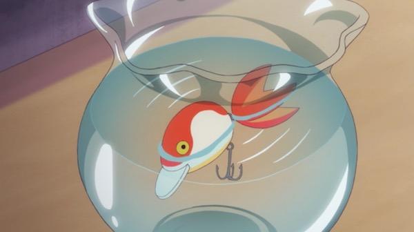 TVアニメ「リトルウィッチアカデミア」7話より、パイシーズ先生の身代わり
