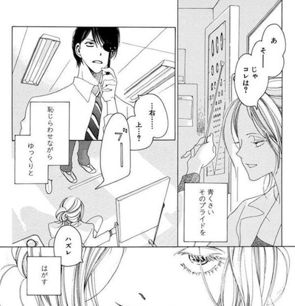 中村明日美子短編集「片恋の日記少女」より、保健教師の役得