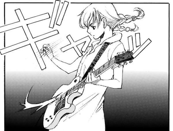 「空電ノイズの姫君」(冬目景)1巻より、初めてのレスポール・スペシャル