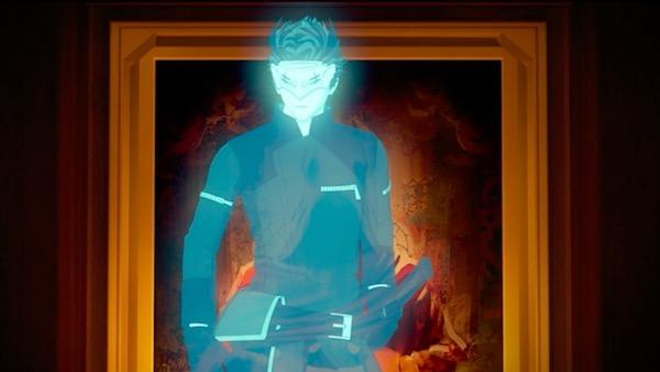 「RWBY(ルビー)Volume 5」第5話より、ブレイクの捕獲を指示するアダム