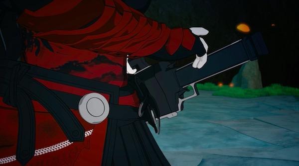 「RWBY(ルビー)Volume 5」第12話より、剣に手を掛けるレイヴン
