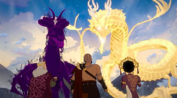 """「RWBY(ルビー)Volume 6」第3話 """"The Lost Fable"""" より、光と闇の神と人間の王たち"""