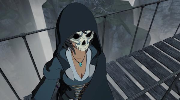 "「RWBY(ルビー)Volume 6」第7話 ""The Grimm Reaper"" より、マリーアの若い頃の姿"