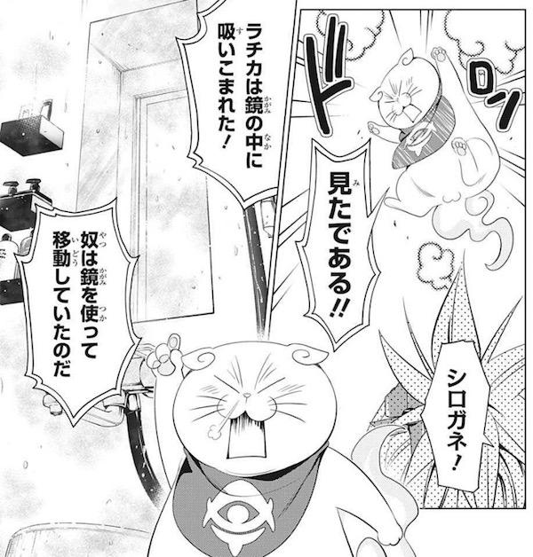 「あやかしトライアングル」(矢吹健太朗)37話より、シロガネは見た