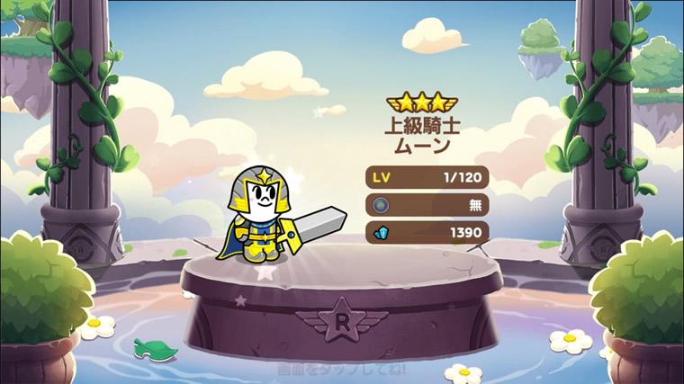 ★8 上級騎士ムーン