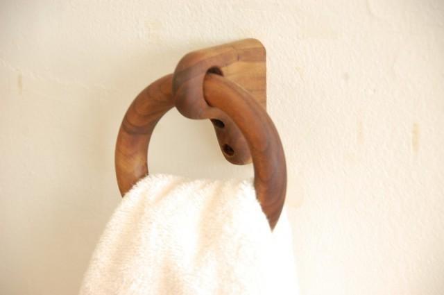 木製タオルリング