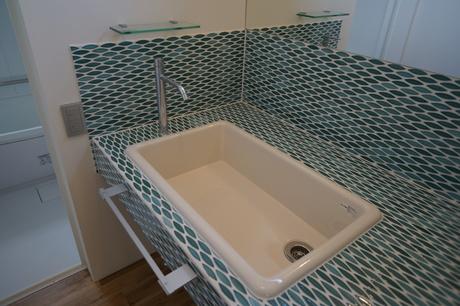 ペスカード造作洗面台
