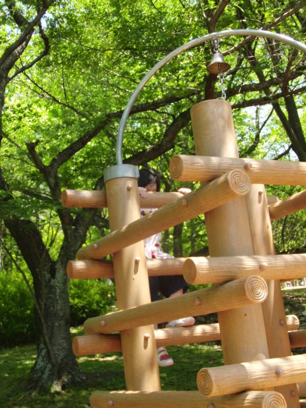 高松市峯山公園アスレチックの画像