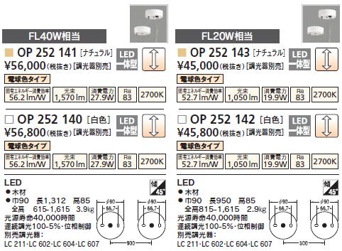 オーデリックOP252140
