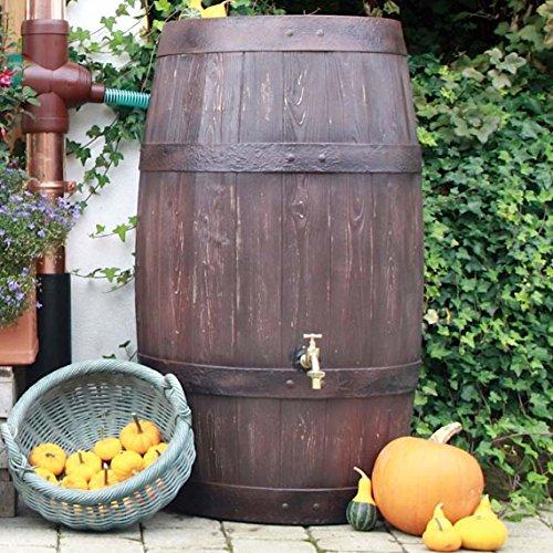 酒樽の雨水タンクバリーク