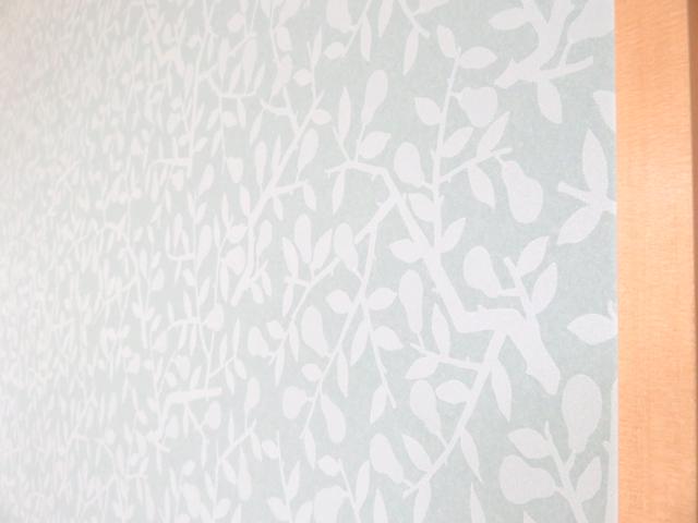 夢二の壁紙NASHI リリカラLY-14025を使った襖アップ