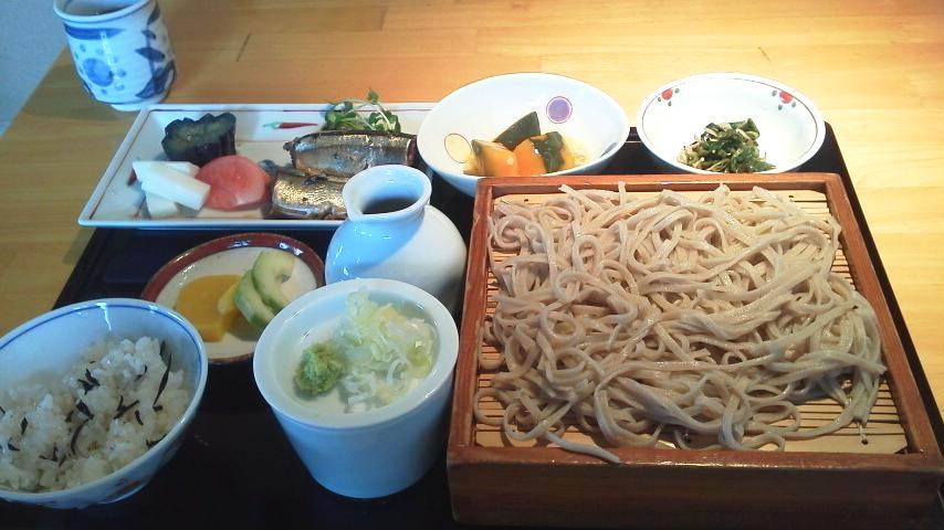 蕎麦の定食