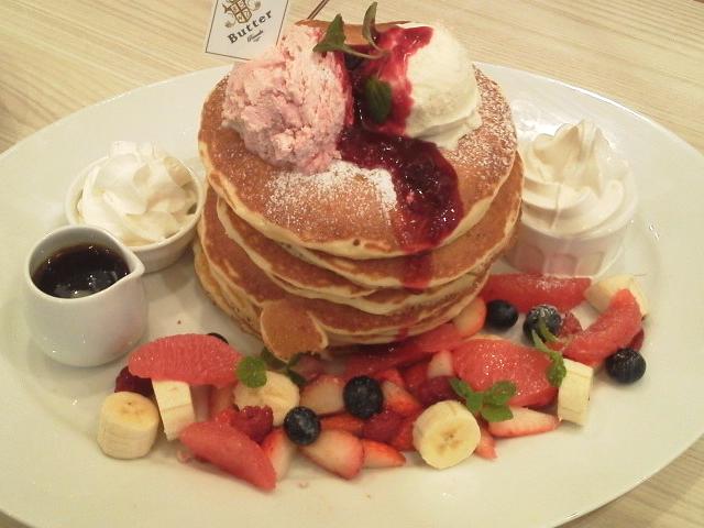 パンケーキの山