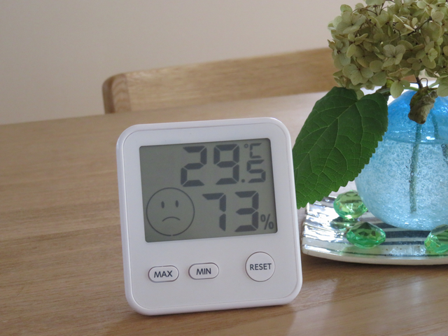 温湿度計午前