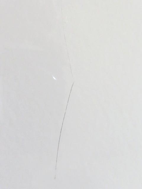 タカラホーローパネルの傷