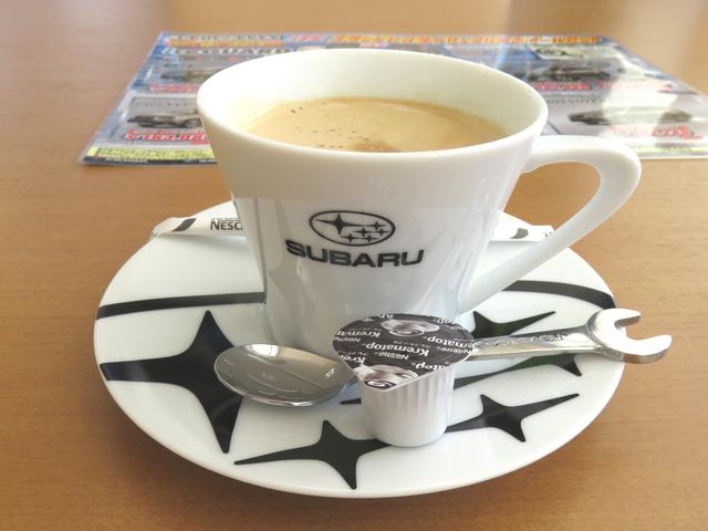 東京スバルで出されたコーヒーの画像