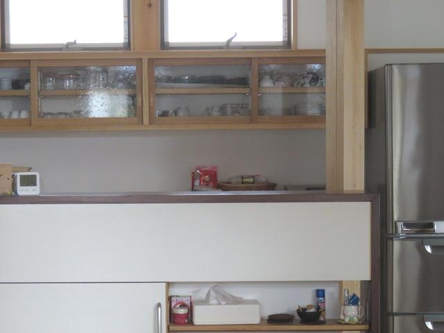 キッチンカウンターの改善後の画像
