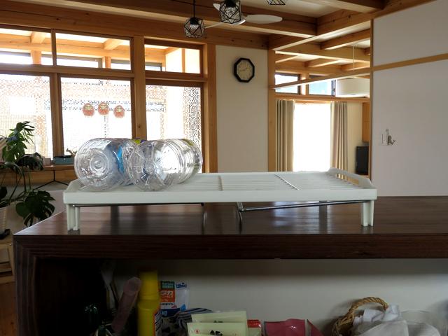 キッチンカウンターの改善前の画像