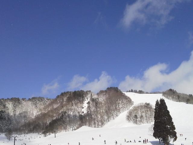 岡山 恩原高原スキー場の景色