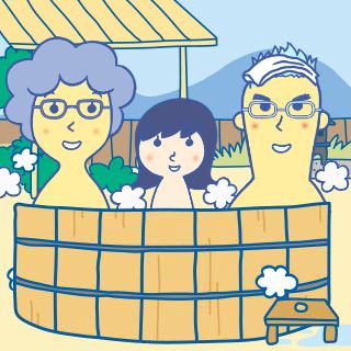 花王ビオレの似顔絵メーカーで作った家族のプロフィール画像